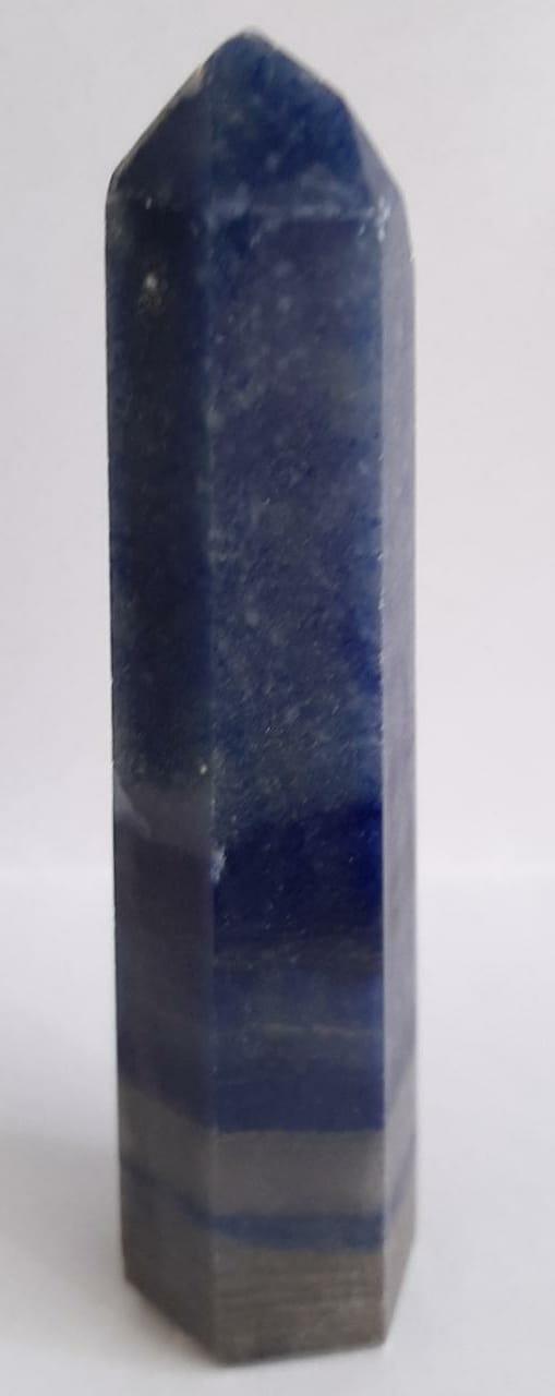 Ponta de Quartzo Azul 100g