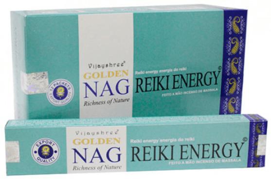 Incenso Golden Reiki Energy - Incenso Indiano de Massala