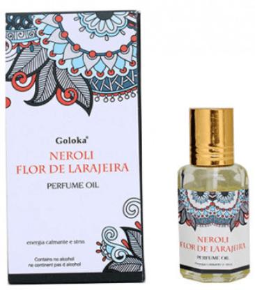 FLOR DE LARANJEIRA - Óleo Perfumado Indiano (10ml)