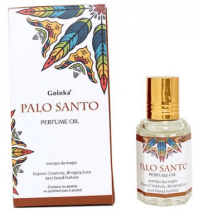 PALO SANTO - Óleo Perfumado Indiano (10ml)