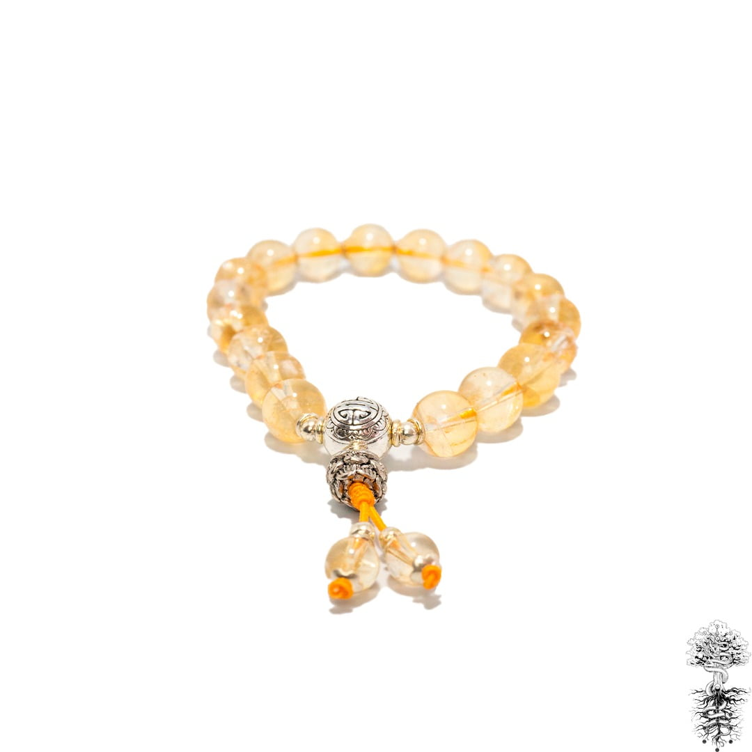 Japamala Pulseira Bodhisattva 18 Contas e Lotus