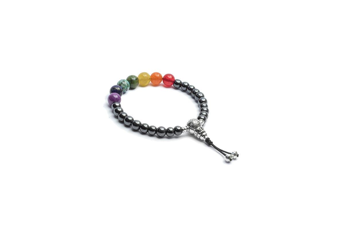 Japamala Rainbow Healing All Chakras PEDRAS ESPECIAIS
