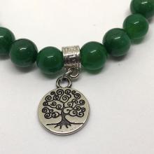 Pulseira de Jade Verde - Boa Sorte e Amizade