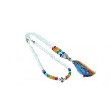 Japamala Colar Terço Budista Rainbow Healing All Chakras 108
