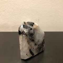 Ponta Cristal com Turmalina N233 - 282g
