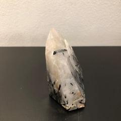 Ponta Cristal com Turmalina N235 - 266g