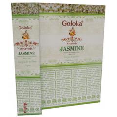 Incenso Goloka Ayurvedic Jasmine - Incenso Indiano de Massala