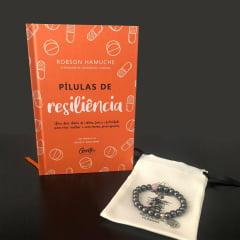 KIT 5 PÍLULAS DE RESILIÊNCIA + PULSEIRA HEMATITA COM QUARTZO ROSA