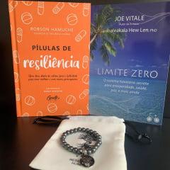kit Ho'oponopono Proteção e Alegria - Pílulas de Resiliência + Limite Zero + Pulseira de Hematita