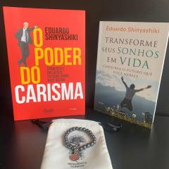 KIT O PODER DO CARISMA 2 LIVROS + PULSEIRA GRÁTIS