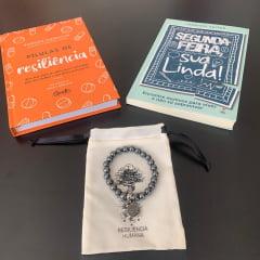 Kit Segunda Feira Sua Linda 2 Livros + Pulseira de Hematita Grátis