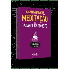 Livro A Caminhada da Meditação + Pedra Ametista