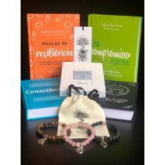 Kit Resiliente 03 - 4 Livros + 3 Pulseiras + 1 Baralhinho dos Sentimentos